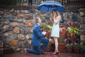 Surprise Proposal at Longwood Gardens