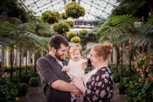 First birthday at Longwood Gardens